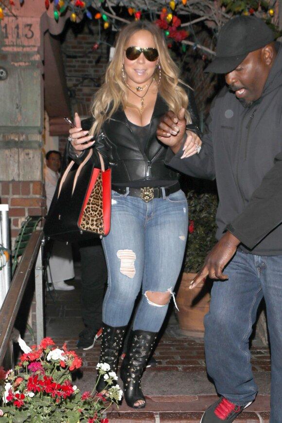 Žvaigždės be stilistų: kaip realiame gyvenime atrodo Mariah Carey