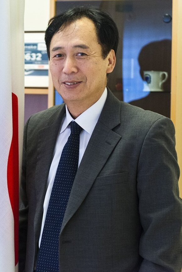 Japanese Ambassador Shigeeda   Photo Ludo Segers