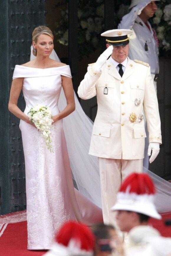 Princesė Charlene ir princas Albert'as