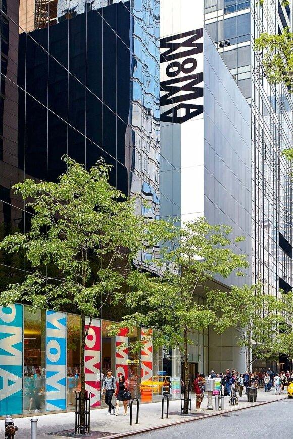 """Modernaus meno muziejus (""""MoMA"""") – vienas svarbiausių šiuolaikinio meno muziejų pasaulyje"""
