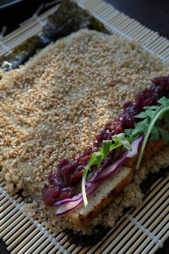 Vegetariškas pirmadienis: sušiai su bolivine balanda