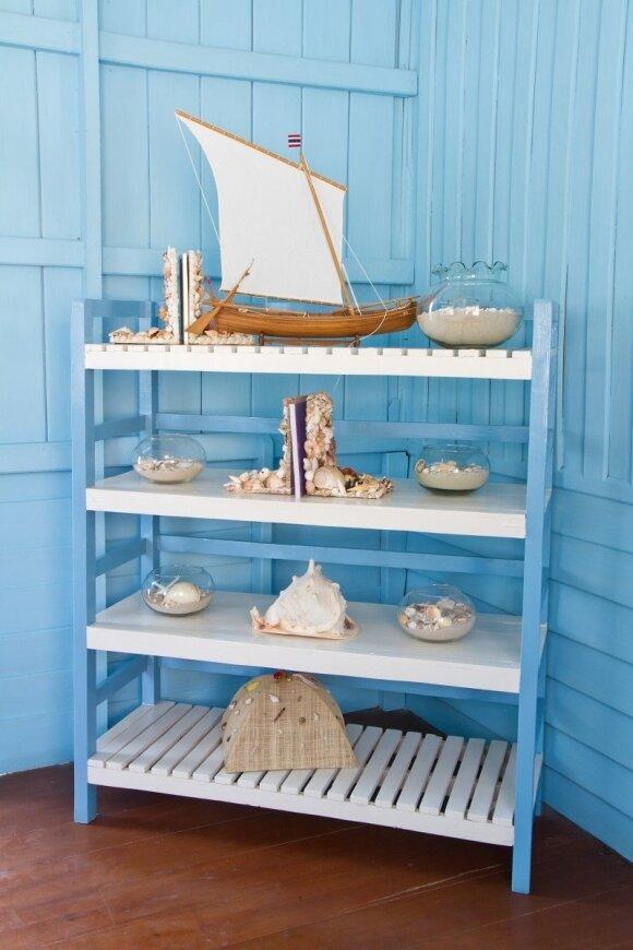 Kaip sukurti jūrinio stiliaus interjerą