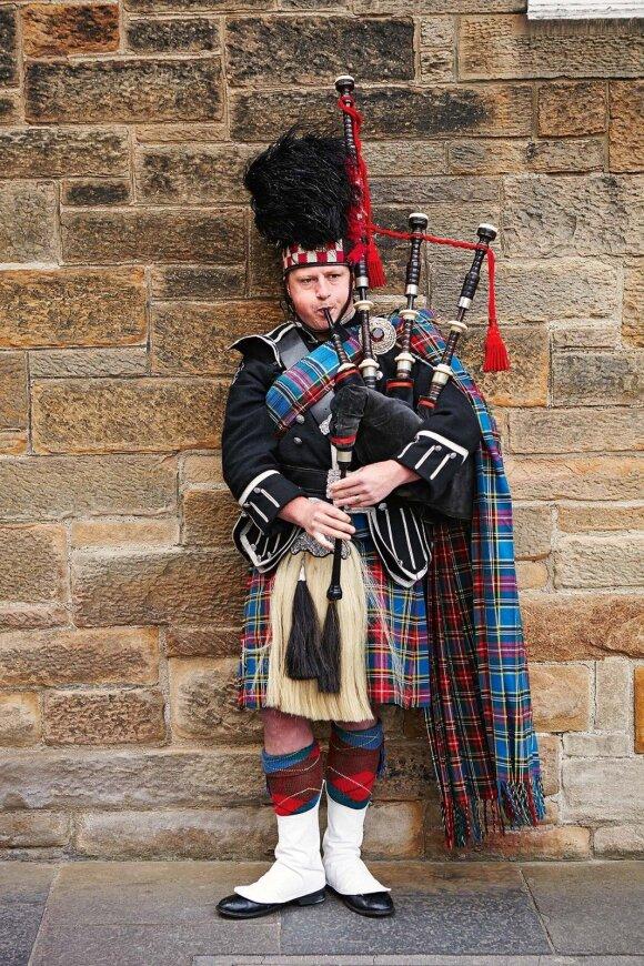 Įrodymas, kad Edinburgas – Škotijos miestas