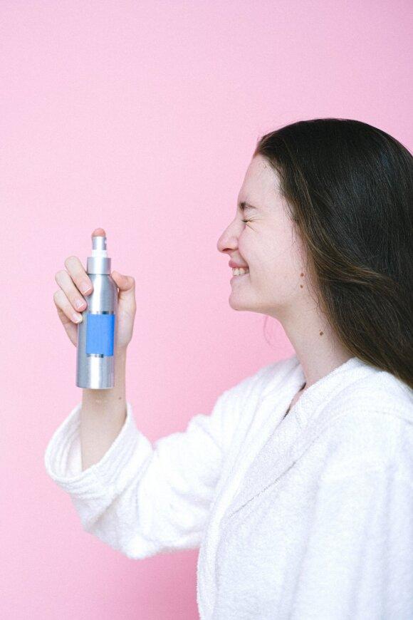 Veido odos drėkinimas
