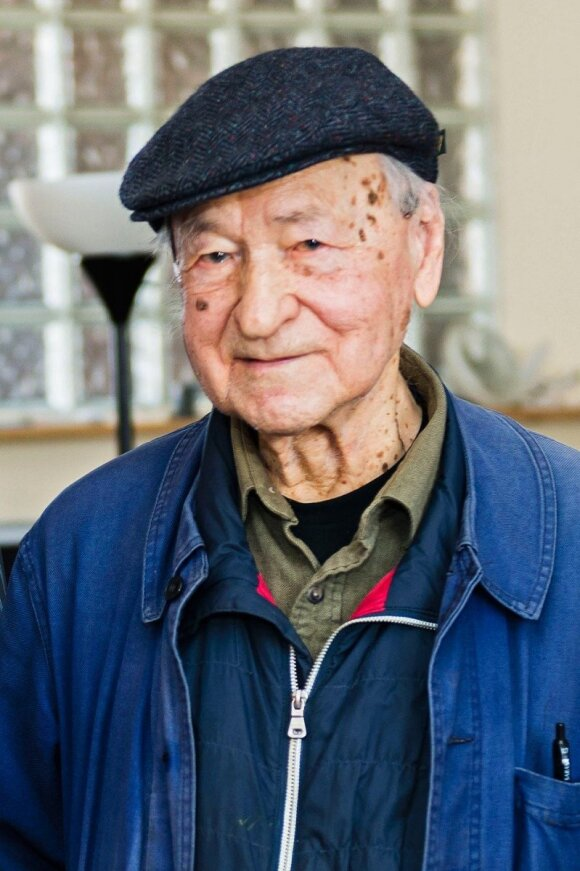 Jonas Mekas photo Ludo Segers