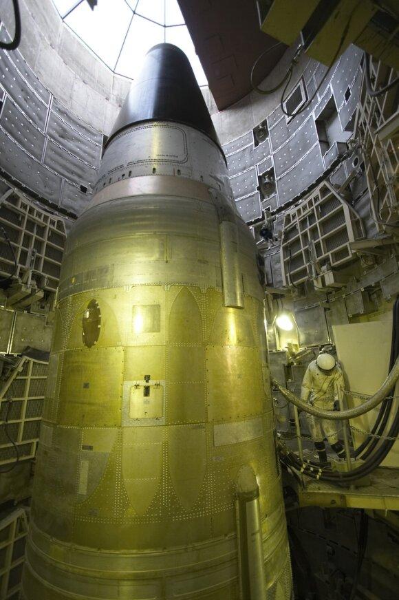 Titan II tarpžemyninės balistinės raketos paleidimo bazė