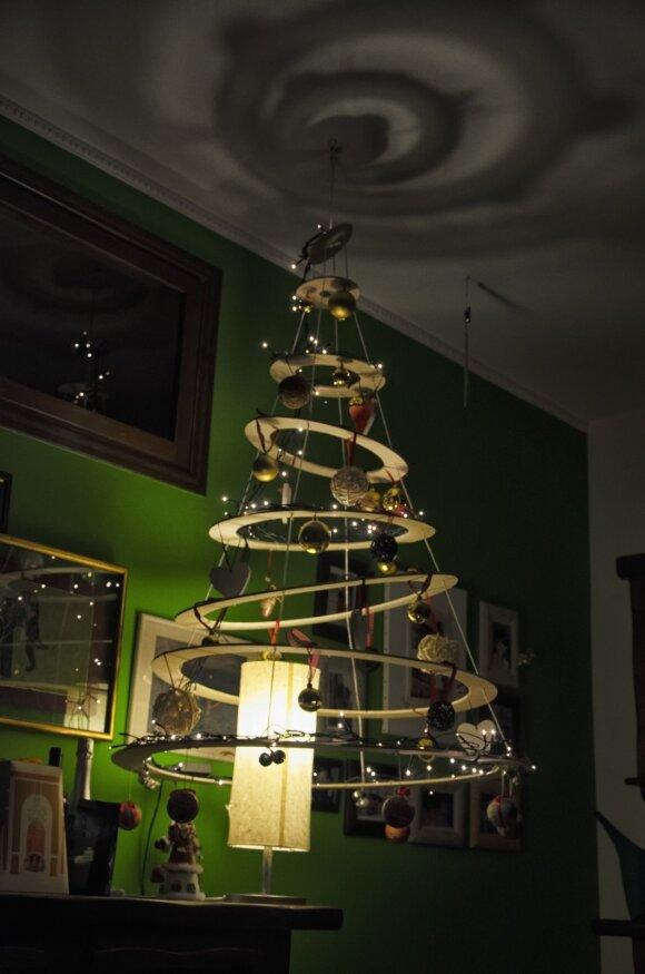 Darau pats: kūrybiški kalėdinės eglutės sprendimai