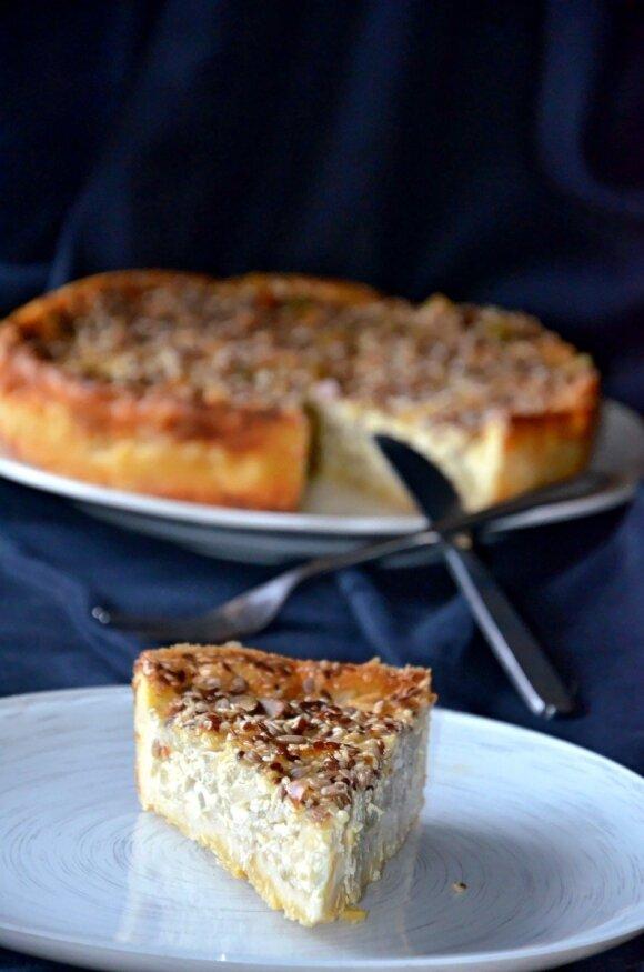 Nuostabusis svogūnų pyragas