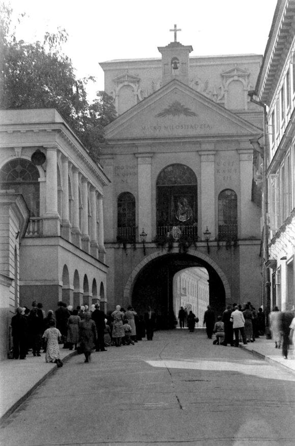 Aušros vartai, 1939–1940 m. V. Augustinas, LNM.