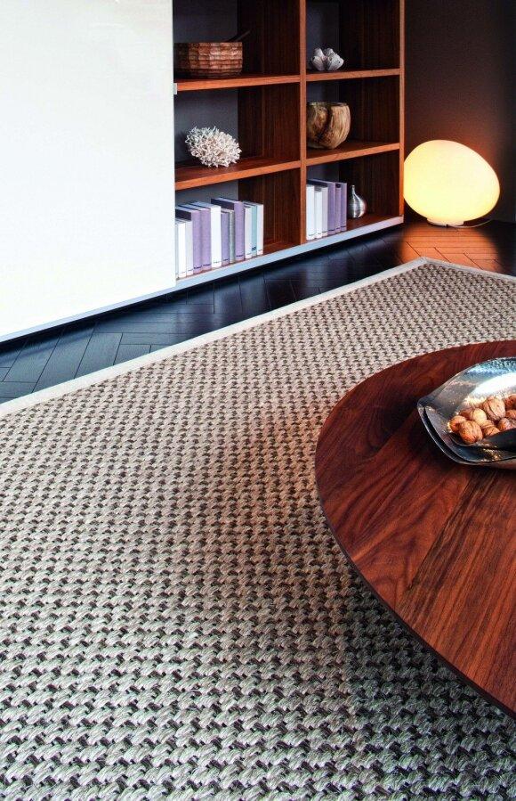 Naujausios tendencijos: sizalis, kokosų pluoštas, jūrų žolės atgimsta moderniose erdvėse