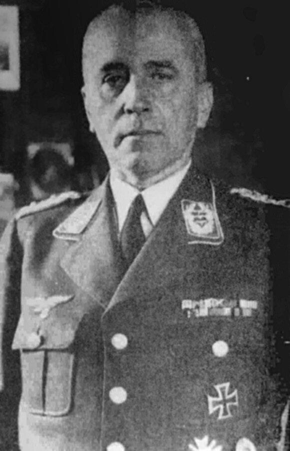 Stovyklos komendantas Friedrichas Wilhelmas von Lindeineris-Wildau