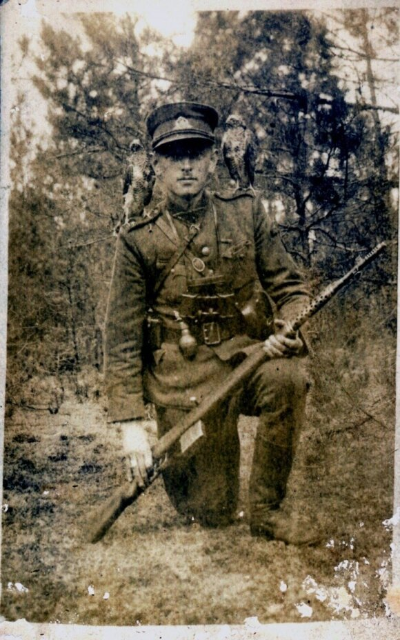 Adolfas Ramanauskas-Vanagas. 1947 m. vasara (LGGRTC <br>Genocido aukų muziejaus fondų nuotr.)