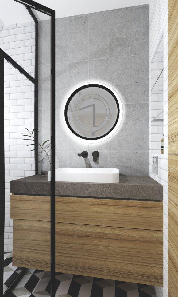 Vonios kambario įrengimas