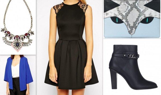 Viena juoda suknelė – 4 skirtingi šventiniai įvaizdžiai FOTO