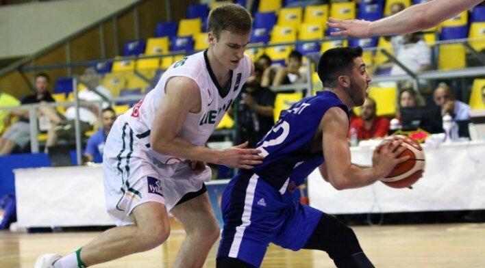 Europos jaunimo U20 čempionatas: Lietuva - Izraelis