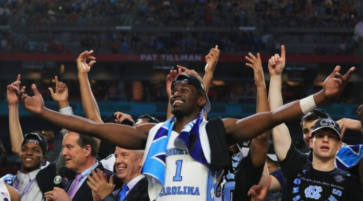 NCAA finale Šiaurės Karolinos krepšininkų triumfas