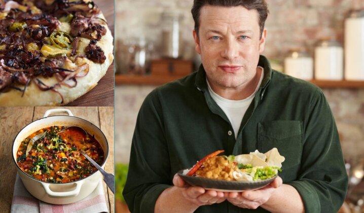 Jamie Oliver receptai