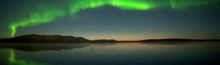 Laplandijos dangų nušvietė įspūdinga šiaurės pašvaistė