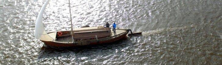 Laivas Vytautas Didysis atplaukė į Kauną