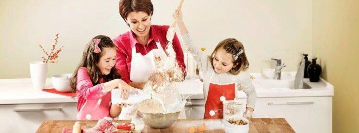 Sėkmės istorija: kaip namų šeimininkė tapo virtuvės šefe ir kulinarinės laidos vedėja