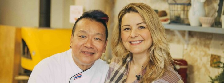 Beata Nicholson ir Chef McDang