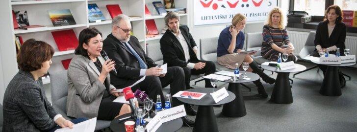 Vilniaus knygų mugės spaudos konferencija