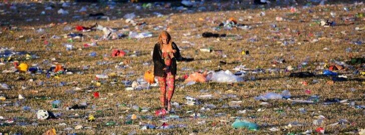 Glastonberio festivalio pabaiga