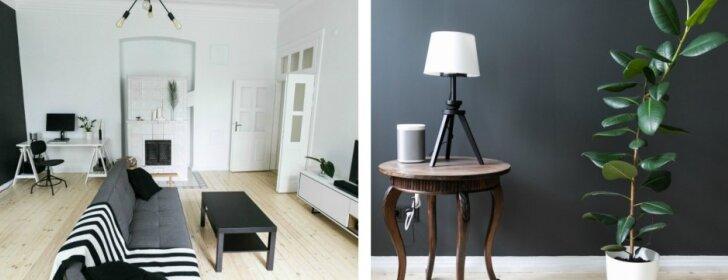 Dviejų kambarių butas Vilniuje: jaukaus skandinaviško stiliaus pavyzdys