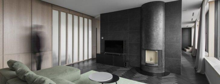 156 kv.m apartamentai Vilniuje, kuriuose svarbiausias akcentas – vaizdas pro langą