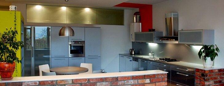 Interjero idėja: vieno buto Vilniuje virtuvė