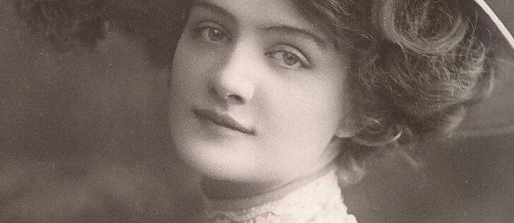 Dažniausiai fotografuotos XX a. pradžios gražuolės gyvenimas nelepino