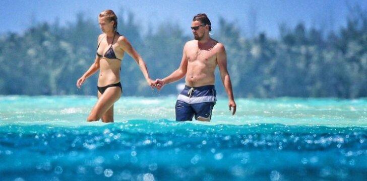 Leonardo DiCaprio ir Toni Garrn
