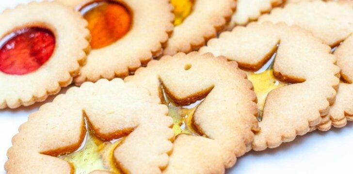 Tai bent grožis: sausainiai su <em>langeliais</em>