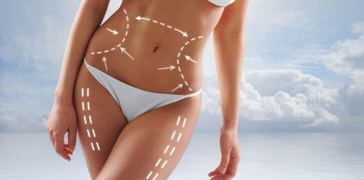 DIETA probleminėms kūno vietoms: pilvui, klubams ir sėdmenims