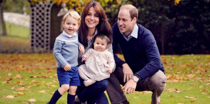 Kalėdų proga karališkoji šeima pateikė siurprizą