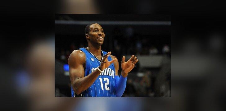 """D.Howardas pirmauja rinkimuose į NBA """"Visų žvaigždžių"""" rungtynes"""