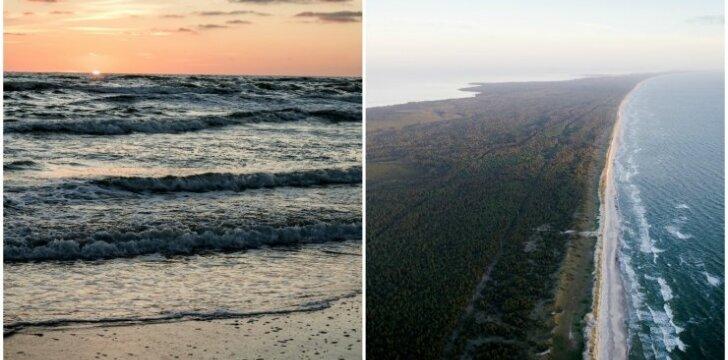 Saulėlydis prie Baltijos jūros