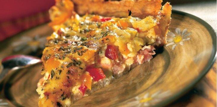 Saldžiųjų paprikų pica