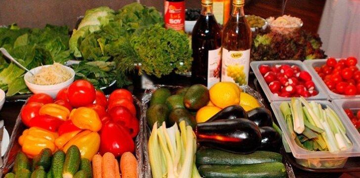 Daržovių ir košių dieta - maistinga ir sotu.