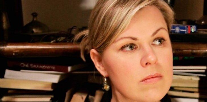 Aktorė A. Vilutytė: gyvenimas privertė sustoti. Beveik metus nevaidinau.