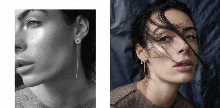 Nežemiško grožio tapytoja Gia Ram tapo juvelyrikos kolekcijos modeliu (FOTO)