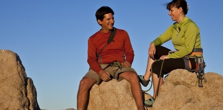 Pasitikėdami vienas kitu, partneriai gali įveikti visus sunkumus.