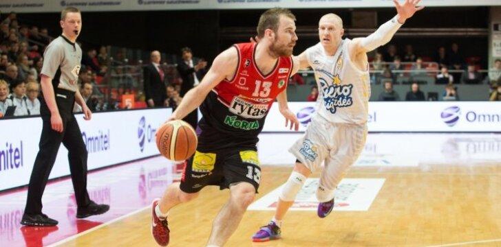 Geriausias balandžio mėnesio LKL krepšininkas – G. Sirutavičius