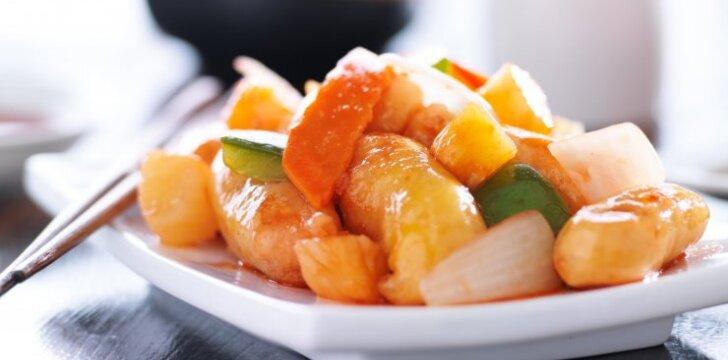 Kiniška saldžiarūgštė vištiena