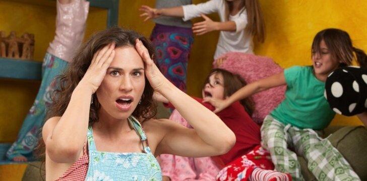Paaiškėjo, kiek vaikų turinčios mamos patiria didžiausią stresą