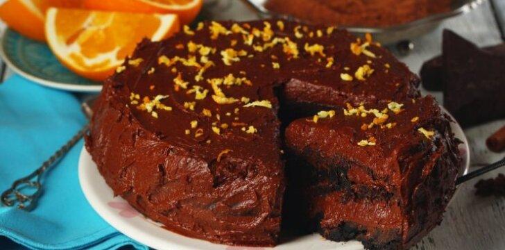 Šokoladinis tortukas GREITUKAS