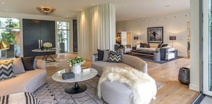 Cindy Crawford namai Beverly Hillse