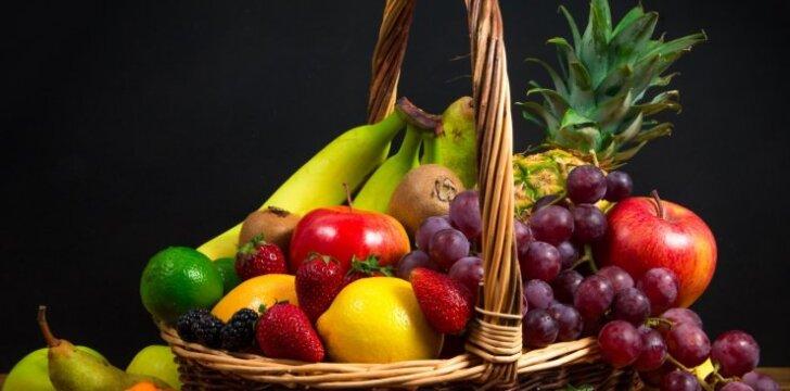Kaip tinkamai laikyti uogas ir vaisius