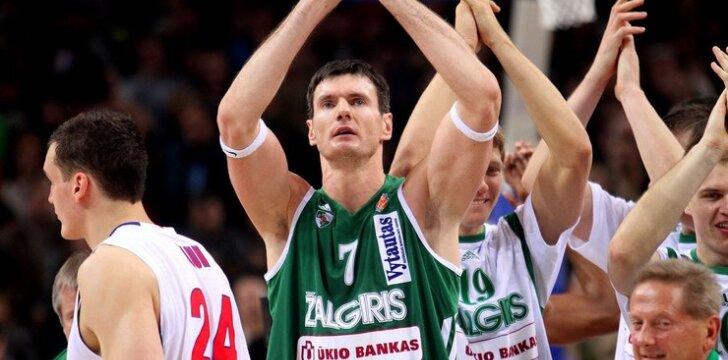 """VTB. Kauno """"Žalgiris"""" - Maskvos CSKA"""
