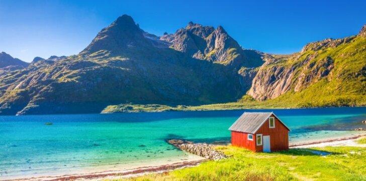 Norvegijos perlų vėrinys - įstabiosios Lofotenų salos